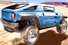 Hummer H4 hint. Image by Hummer.