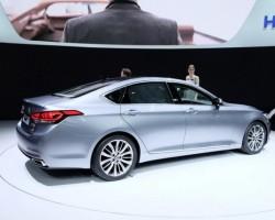 2014 Hyundai Genesis. Image by Newspress.