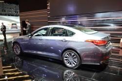 2016 Hyundai Genesis G90. Image by Newspress.