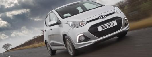 Driven: Hyundai i10 1.0 SE. Image by Hyundai.