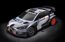 2015 Hyundai i20 WRC. Image by Hyundai.