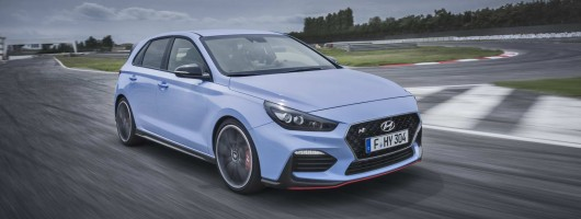 Hyundai i30 N: choose from 250- or 275hp. Image by Hyundai.