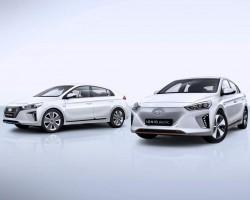 2016 Hyundai Ioniq. Image by Hyundai.