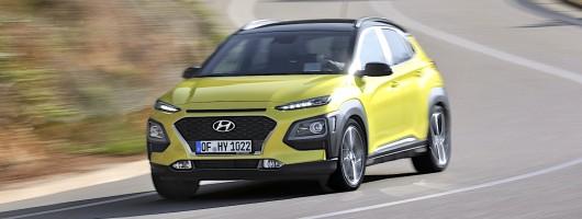 First drive: Hyundai Kona. Image by Hyundai.