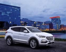 2015 Hyundai Santa Fe. Image by Hyundai.