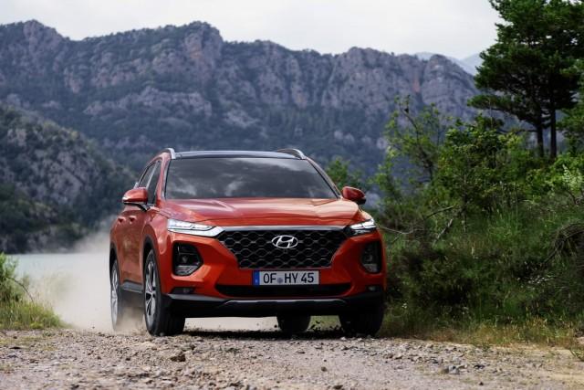 First drive: Hyundai Santa Fe. Image by Hyundai.