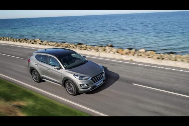 First drive: Hyundai Tucson 48V. Image by Hyundai.