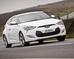 Dual-clutch Veloster coup�. Image by Hyundai.