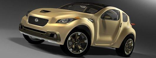 Crazy Hyundai concept debuts in LA. Image by Hyundai.