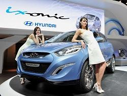 2009 Hyundai ix-onic concept. Image by Hyundai.