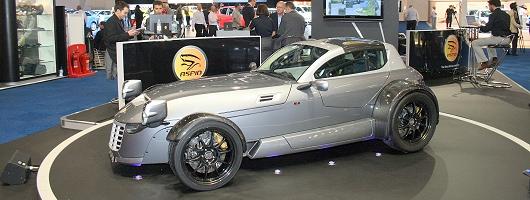 British Motor Show: IFR Automotive Aspid. Image by Shane O' Donoghue.