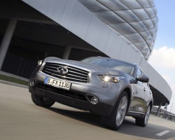 Updated Infiniti FX. Image by Infiniti.