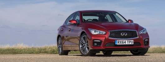Infiniti dollops 400hp into Q50. Image by Infiniti.