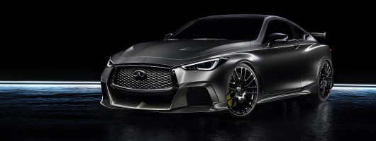 Infiniti Project Black S: new BMW M4 rival? Image by Infiniti.