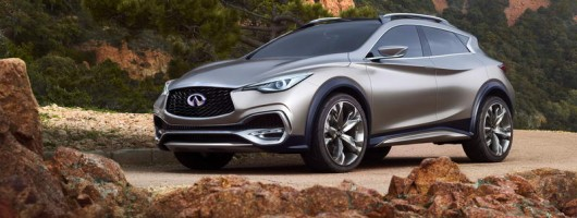 Infiniti drip feeds more info on the QX30. Image by Infiniti.