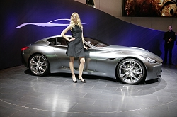 2009 Infiniti Essence concept. Image by Newspress.