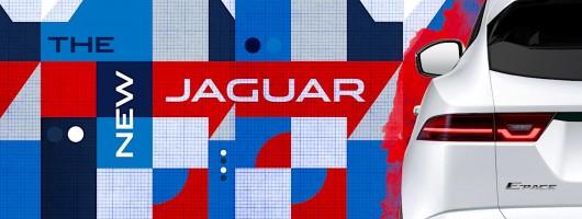 First look at the Jaguar E-Pace. Image by Jaguar.