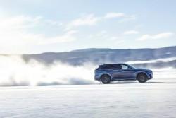 2015 Jaguar F-Pace undergoing cold testing. Image by Jaguar.