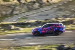 2015 Jaguar F-Pace in disguise. Image by Jaguar.
