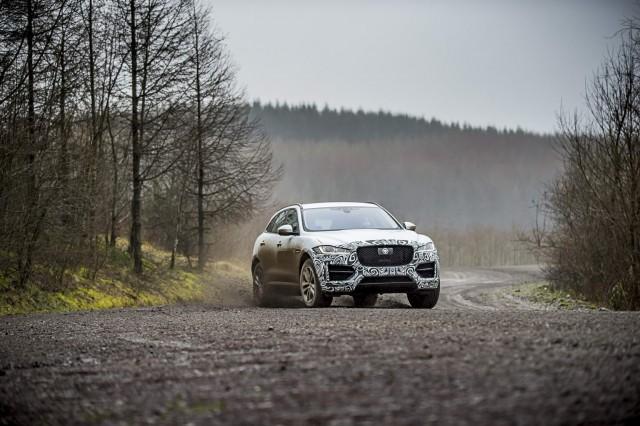 First drive: Jaguar F-Pace (pre-production). Image by Jaguar.