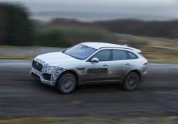 2016 Jaguar F-Pace in pre-production guise. Image by Jaguar.