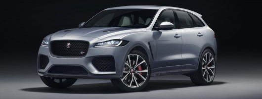 Jag ramps-up the F-Pace with 550hp SVR. Image by Jaguar.