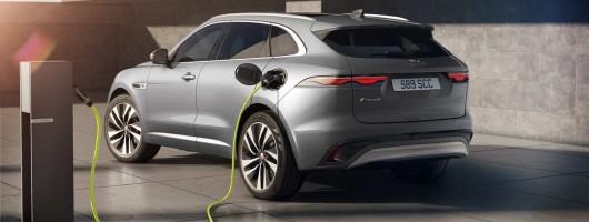 Jag's F-Pace gets a plug-in hybrid model. Image by Jaguar.