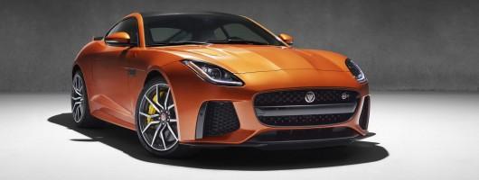 Power boost for Jag's F-Type SVR. Image by Jaguar.