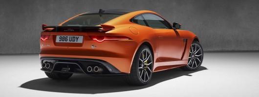 Jaguar sets prices of F-Type SVR. Image by Jaguar.