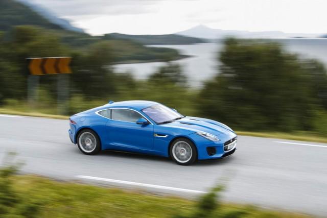 First drive: Jaguar F-Type 2.0-litre Coupe. Image by Jaguar.