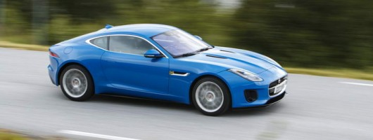 First drive: Jaguar F-Type 2.0-litre Coupe. Image by Jaguar.