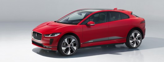 Jaguar I-Pace wins UKCotY 2019. Image by Jaguar.