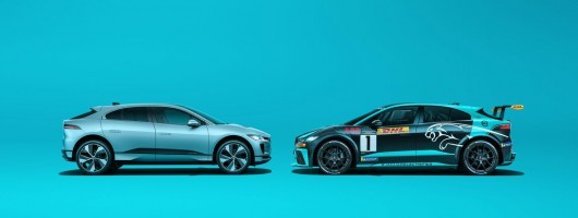 Jaguar I-Pace gains 12 real-world miles. Image by Jaguar UK.
