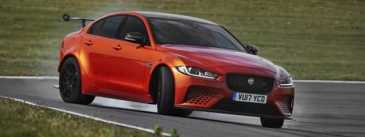 Jag's orange is the new Black Series. Image by Jaguar.