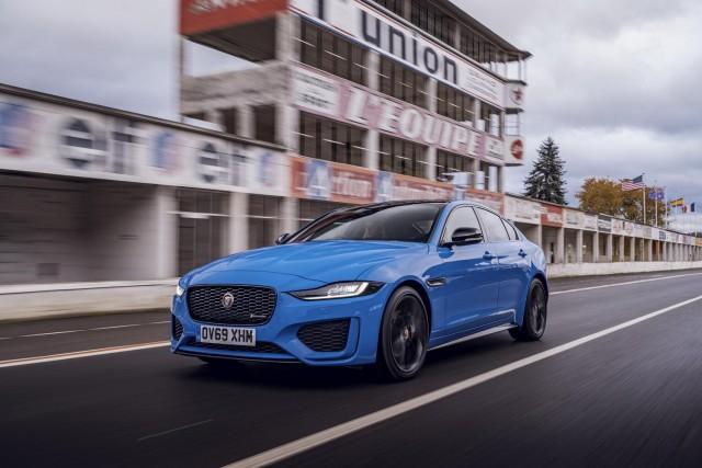 First drive: Jaguar XE Reims Edition. Image by Jaguar UK.