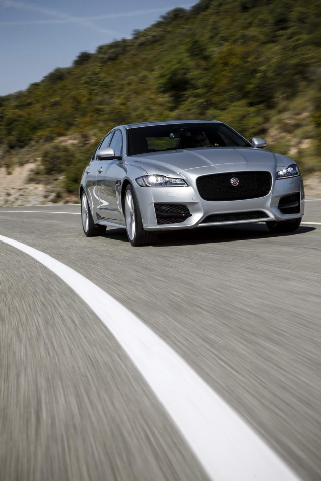 Driven: Jaguar XF 2.0d. Image by Jaguar.