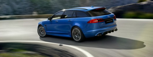 Jaguar unveils 550hp V8 estate. Image by Jaguar.
