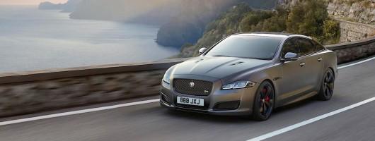 Jaguar bestows 575hp on mighty XJR. Image by Jaguar.