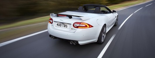 Jaguar reveals fastest ever convertible. Image by Jaguar.