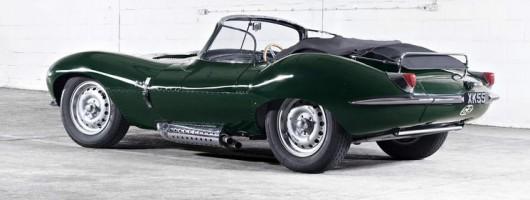 Jaguar recreates the stunning XKSS. Image by Jaguar.