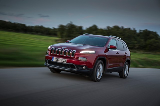 New Jeep Cherokee to be displayed at Geneva. Image by Jeep.