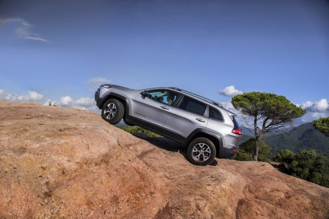 Jeep Cherokee to start from £25,495. Image by Jeep.