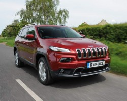New Cherokee in the UK. Image by Jeep.