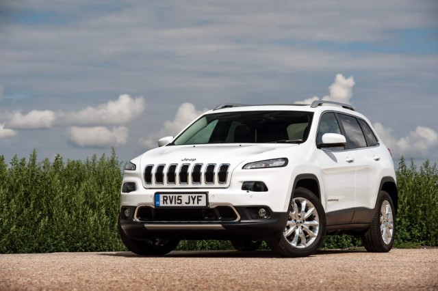 New diesel for Cherokee. Image by Jeep.