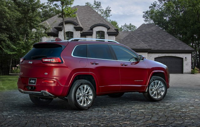 Top of the range Cherokee revealed. Image by Jeep.