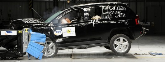 Jeep Compass slammed by Euro NCAP. Image by Euro NCAP.