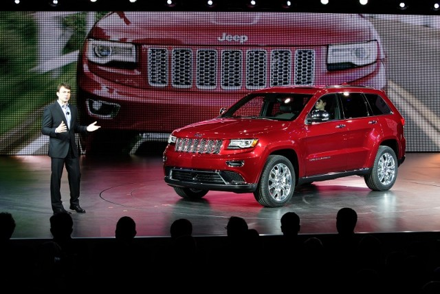 Detroit 2013: updated Jeep Grand Cherokee. Image by Jeep.