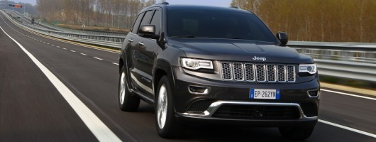 First drive: Jeep Grand Cherokee. Image by Jeep.