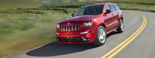 Hot Grand Cherokee for Frankfurt. Image by Jeep.