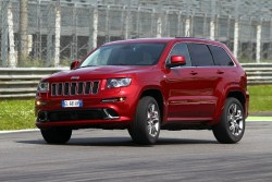 2012 Jeep Grand Cherokee SRT. Image by Jeep.